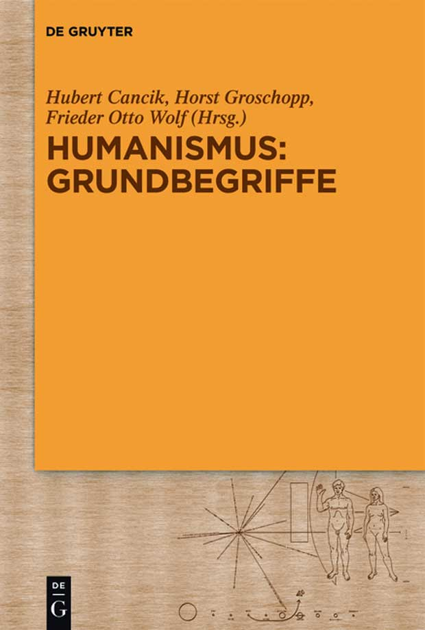 Cover Cancik / Groschopp / Wolf: Humanismus. Grundbegriffe