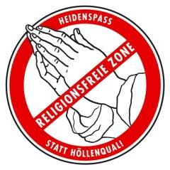 Religionsfreie Zone, Foto: gbs
