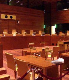Ein Blick in den Sitzungssaal des Europäischen Gerichtshofes. (Foto: Stefan64 / Wikipedia)