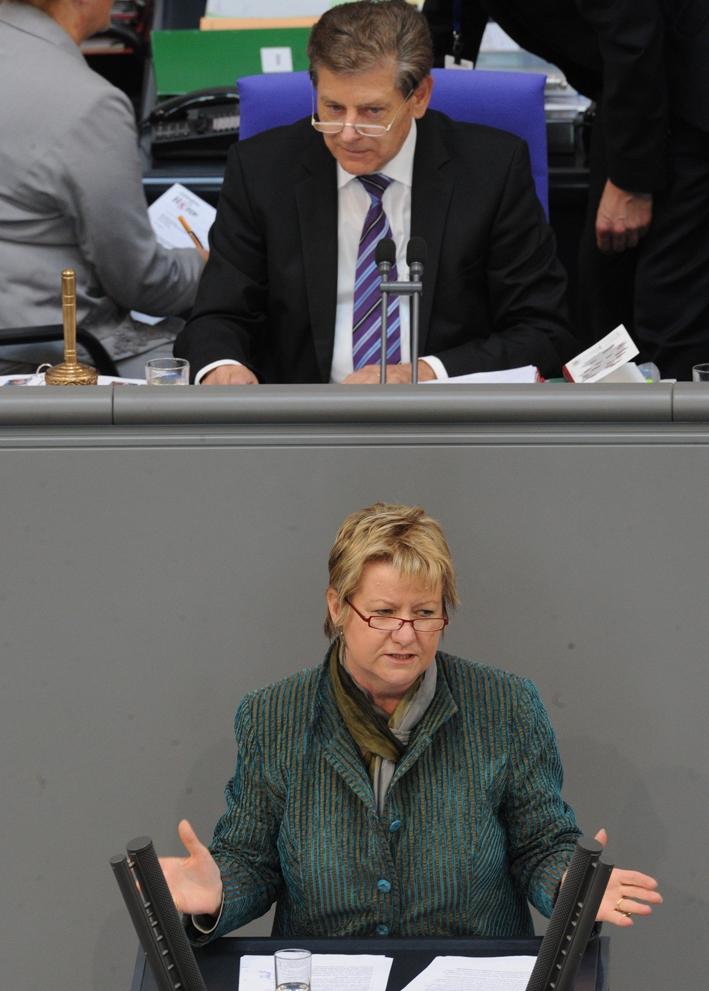Die engagierte Katholikin Sylvia Löhrmann spielte bei der Einführung des islamischen Religionsunterrichts eine zentrale Rolle. (Foto: © Deutscher Bundestag/Lichtblick/ Achim Melde)