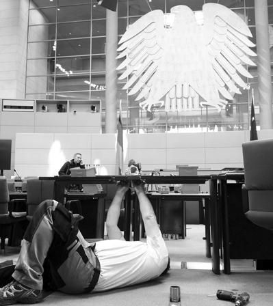 IBKA – arbeitet am Umbau in Deutschen Parlamenten, Foto: Deutscher Bundestag / Lichtblick / Achim Melde