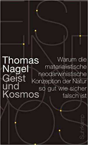 Buchcover Nagel Geist und Kosmos