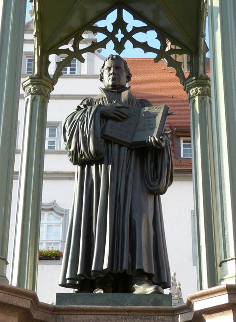 Der SED-Staat befand sich auf protestantischem Kernland. Hier hatte Martin Luthers Reformation 1517 ihren Anfang genommen, Foto: © pixabay.com